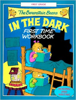 dark workbook - Berenstain Bears Coloring Book
