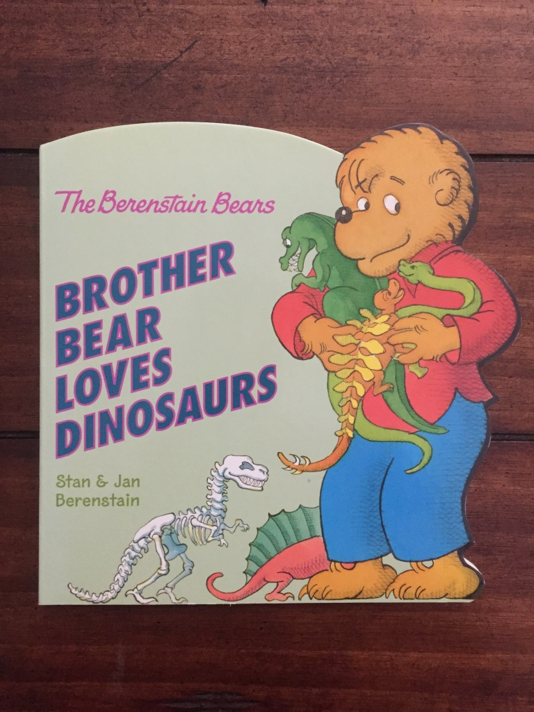 Berenstain Bears Brother Bear Loves Dinosaurs