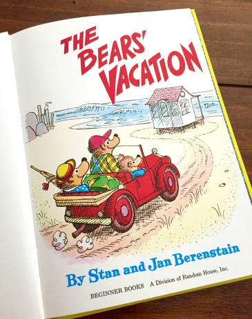 The Bears Vacation title page