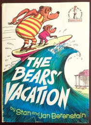A First Edition copy of The Bears' Vacation (1968) with dust jacket