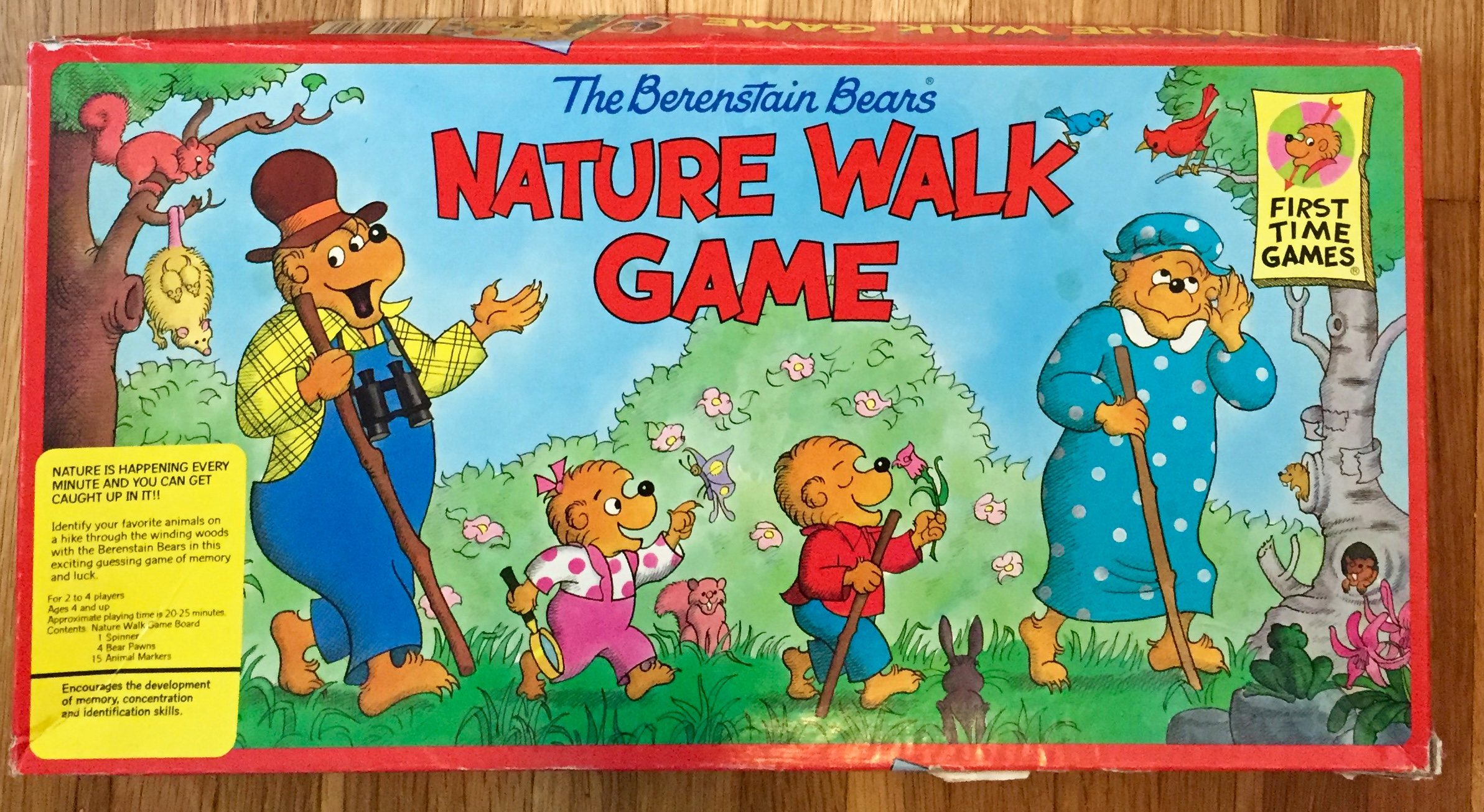 The Berenstain Bears Learn to Share Game Board Game ...