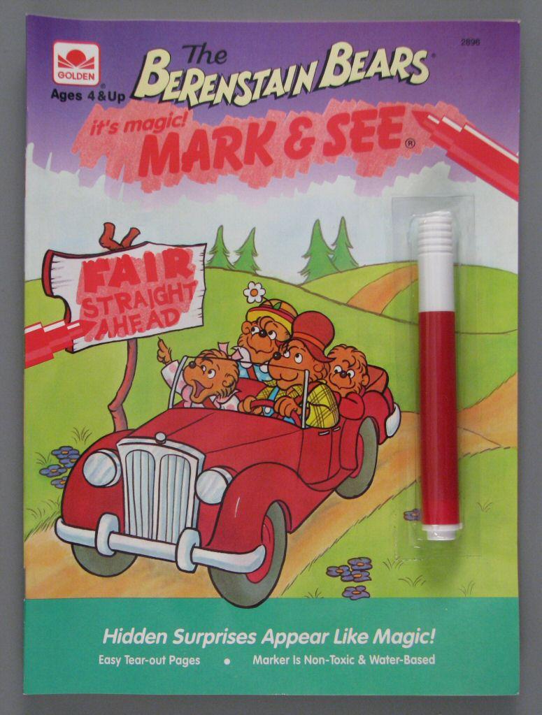 magic mark see - Berenstain Bears Coloring Book