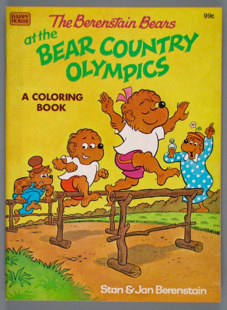 List of Berenstain Bears Coloring Books and Activity Books ...