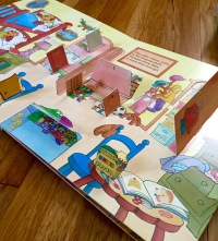 The Berenstain Bears Home Sweet Tree (Random House, 1997) with 60 flaps to lift and learn!