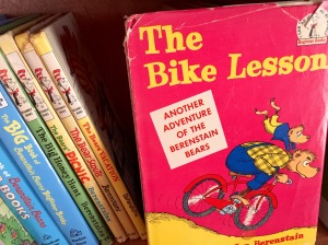 The Bike Lesson was the first book to use the phrase