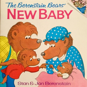 "The first Berenstain Bears book to use a ""scripted"" logo. It was in use from 1974 to 1978 and is a clear predecessor to the modern standard logo."