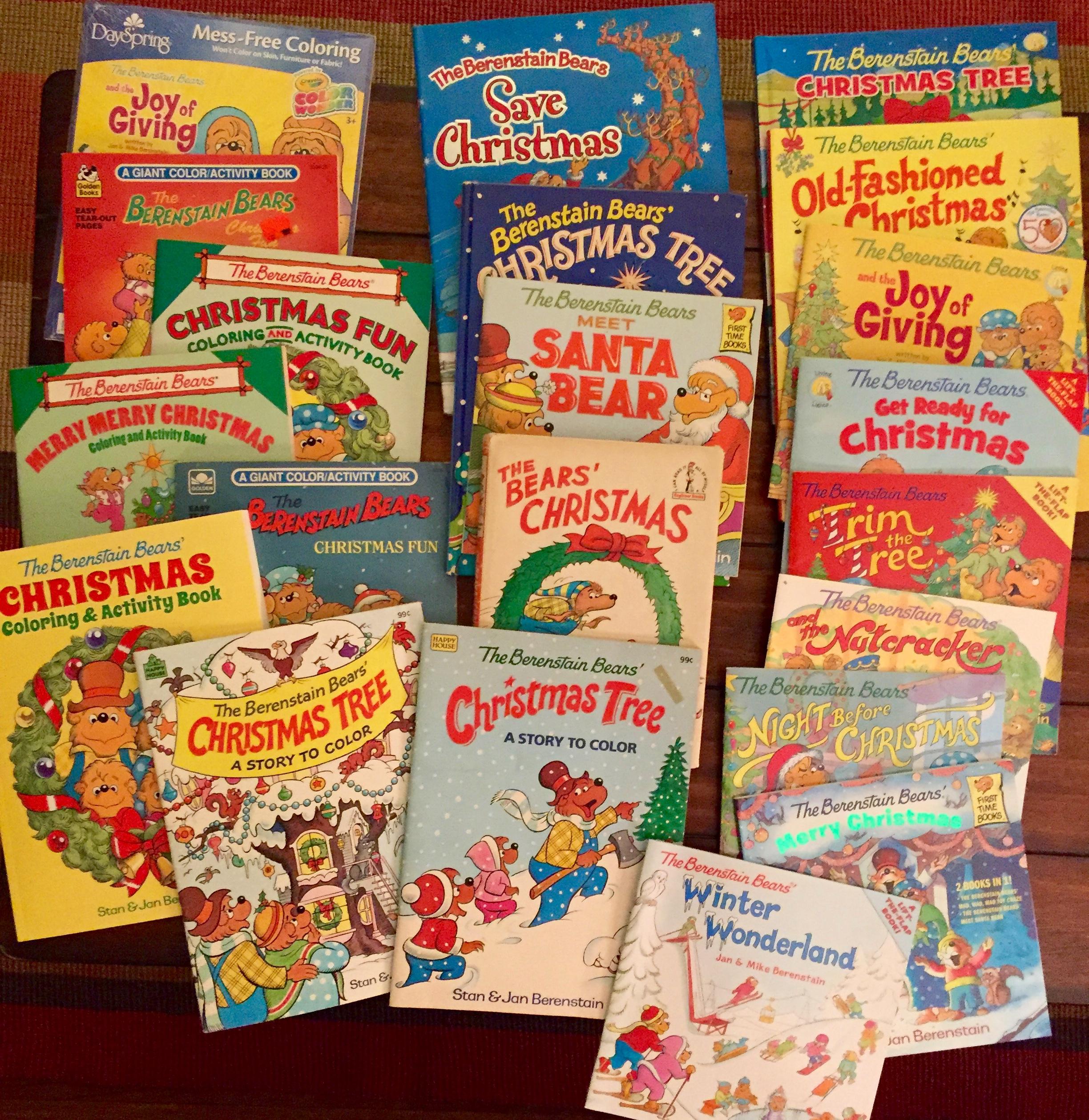 Berenstain Bears Christmas Books and Memorabilia – Berenstain ...