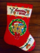 Vintage Berenstain Bears Christmas stockings can be found on Etsy