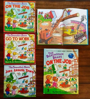 All five versions, with the interior spread of